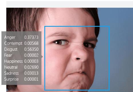 microsoft emotions