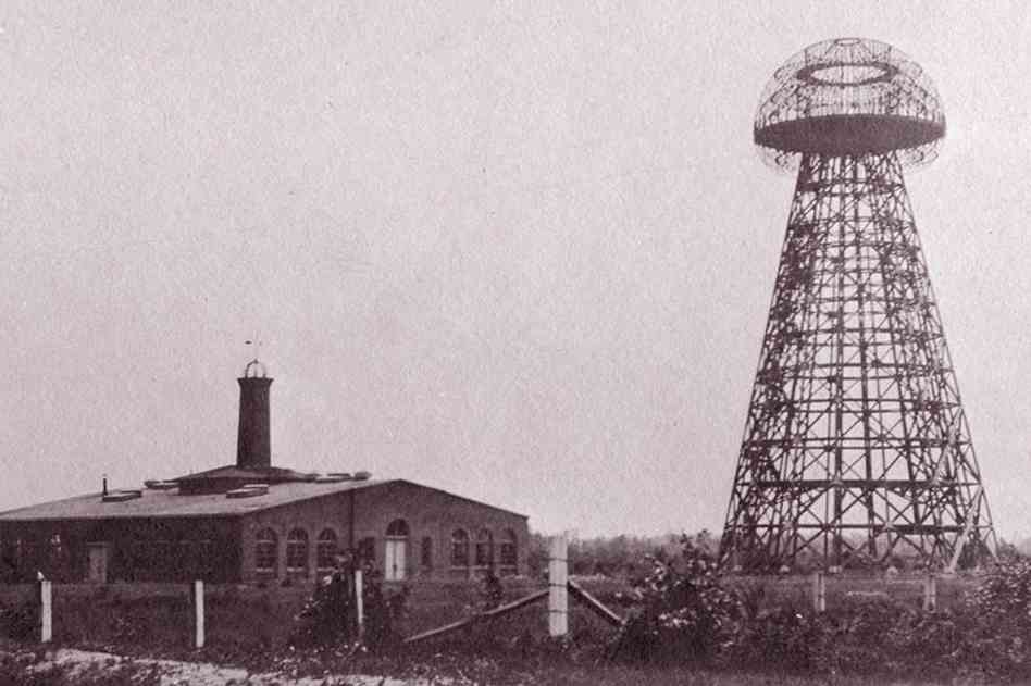 Tesla's Wardenclyffe Tower. Unfortunately, it was raised in 1917. Image: Wiki Commons