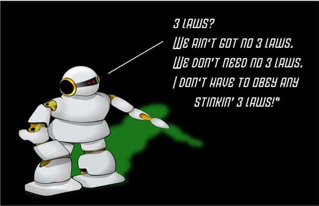 laws robotics