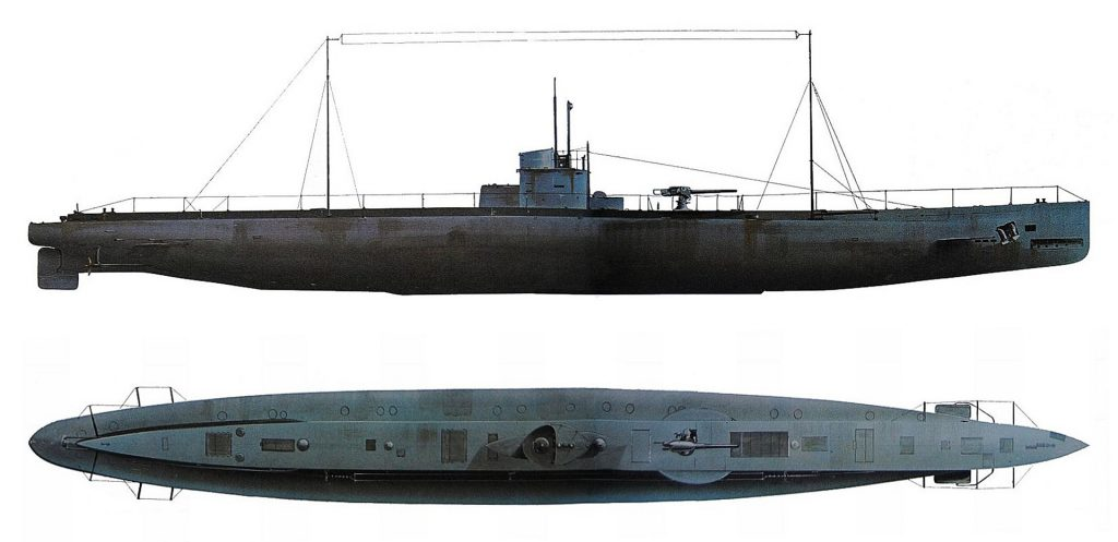 Artist's impression of what U-31 might have looked like. Image via theguardian