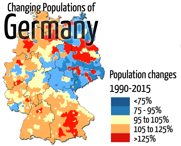 germany population change