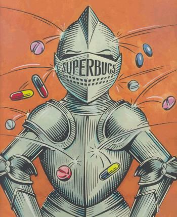 superbugs vs antibiotics