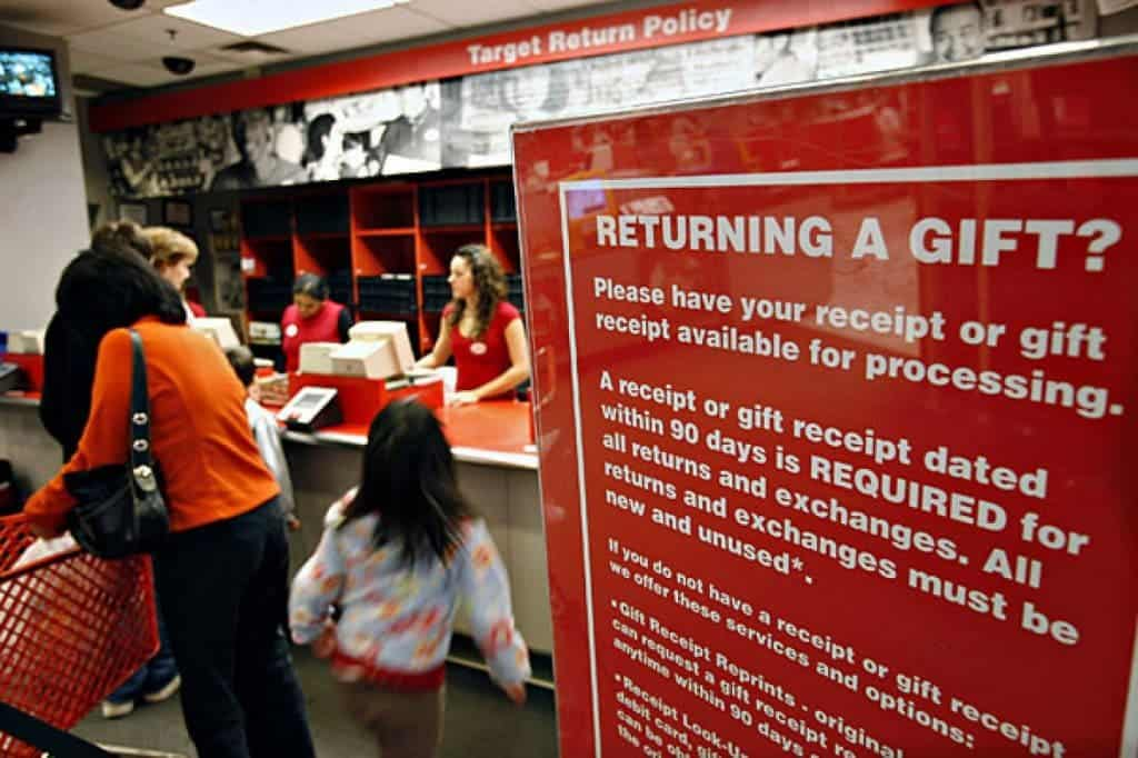 Target's new return policy allows customers to return select merchandise for up to a year from the date of purchase. Considering that the average return time for similar retailers is 90 days, Target's new policy is a .