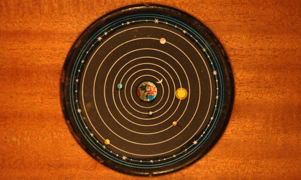 A Ptolemaic system.