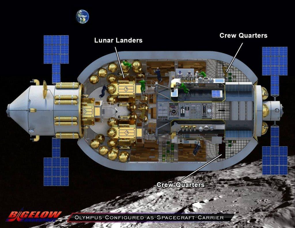 next manned spacecraft interior - photo #39