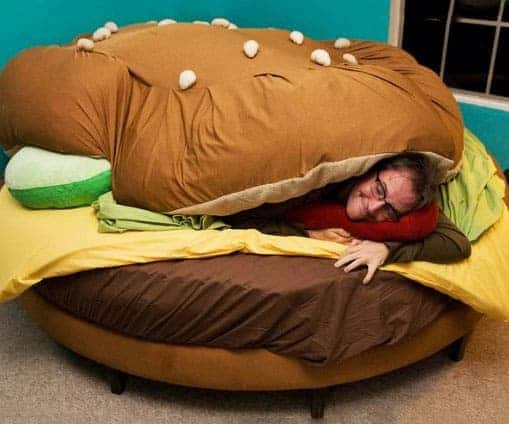 This is called the Hamburger Bed. It costs only $2,321.77.