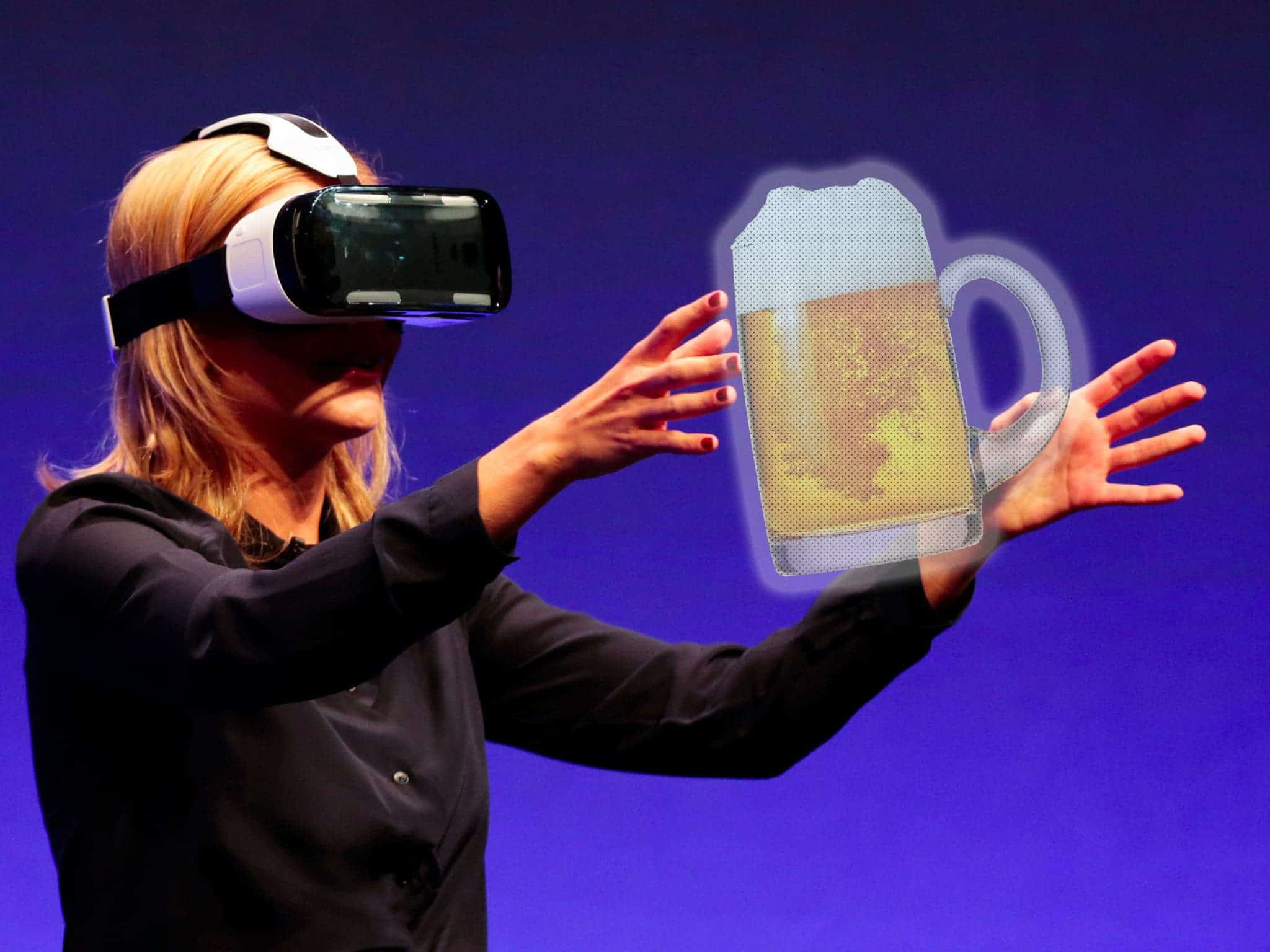 Virtual Reality app lets friends meet in bars for drinks