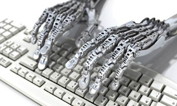 robot writer artist