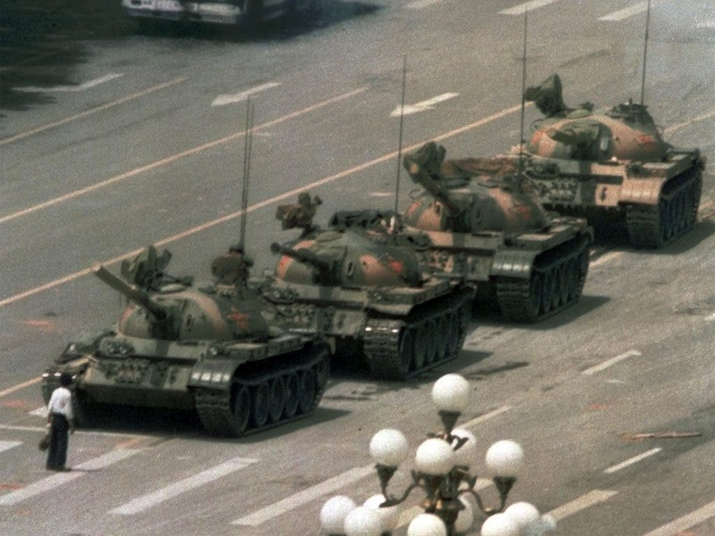 tank man the iconic image that china doesn t want you to see