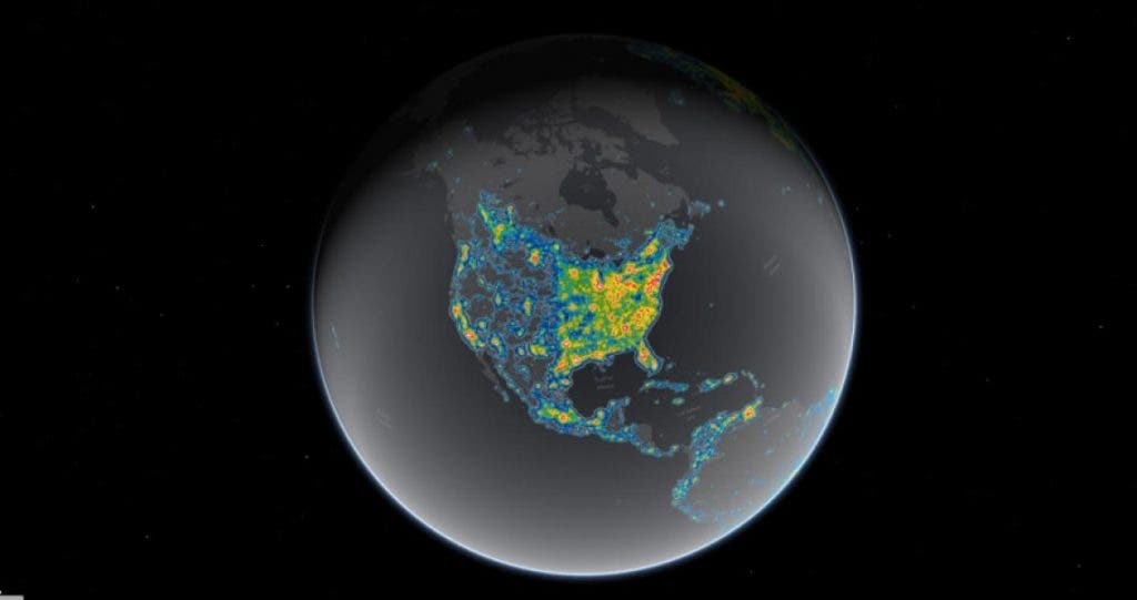 Eight in ten Americans can\'t see the Milky Way due to light pollution