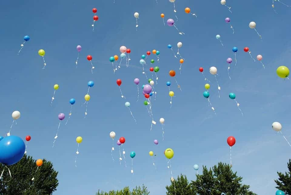 Helium baloons