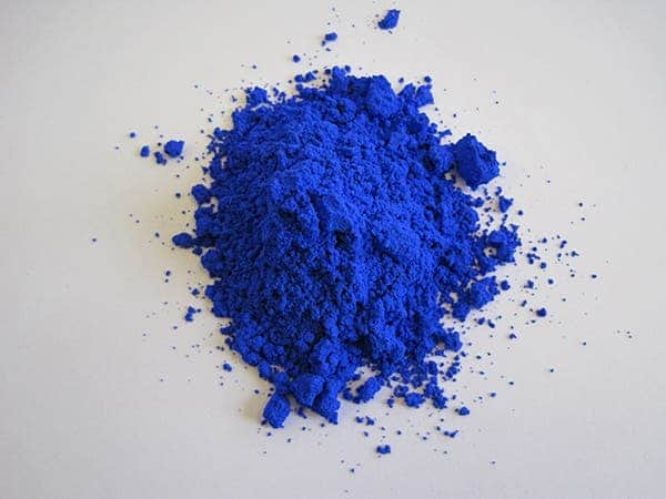 YInMn blue. Credit: Oregon State University.
