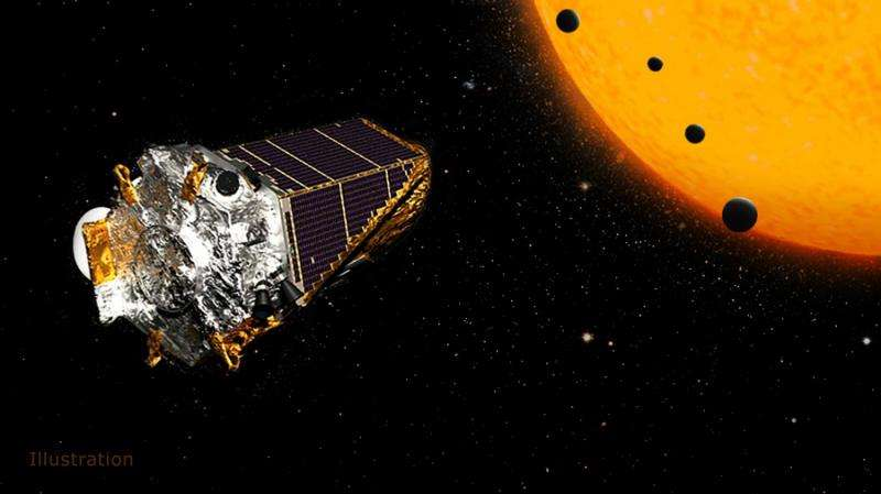An illustration of NASA's Kepler Space Telescope during the K2 mission. Credit: NASA/JPL-Caltech