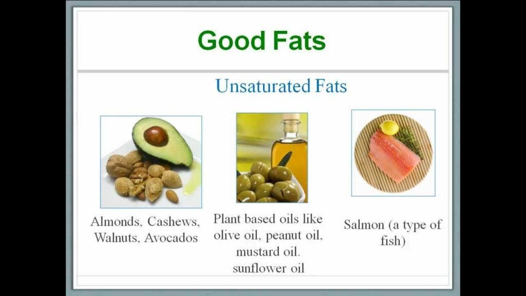 higher consumption of unsaturated fats linked to better health