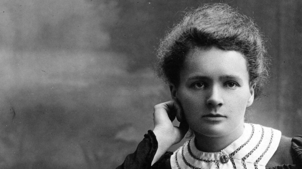 Marie Curie. Credit: Public Domain
