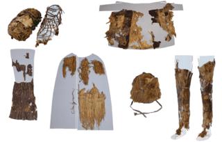 Otzi's wardrobe. Credit: INSTITUTE FOR MUMMIES AND THE ICEMAN