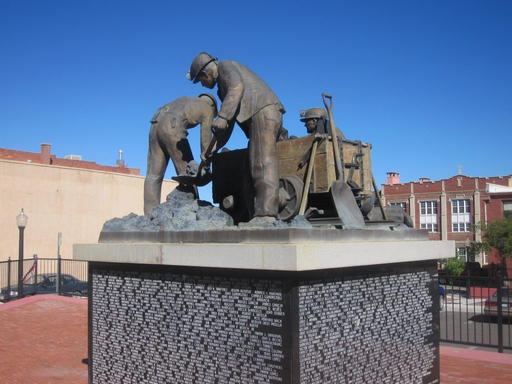 A coal mining monument in Colorado. Credit: Wikimedia Commons