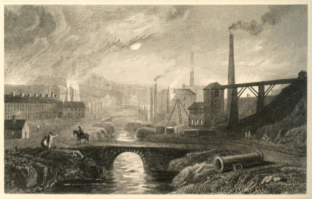 England during early Industrial Era.