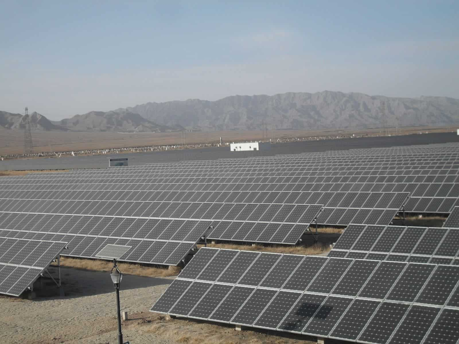 China will build the world's biggest solar farm: 6 million panels amounting to 2GW, stretched over 7,000 city blocks1600 x 1200 jpeg 277kB