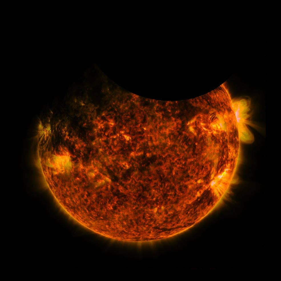 NASA Solar Observatory sees double eclipse from outer space
