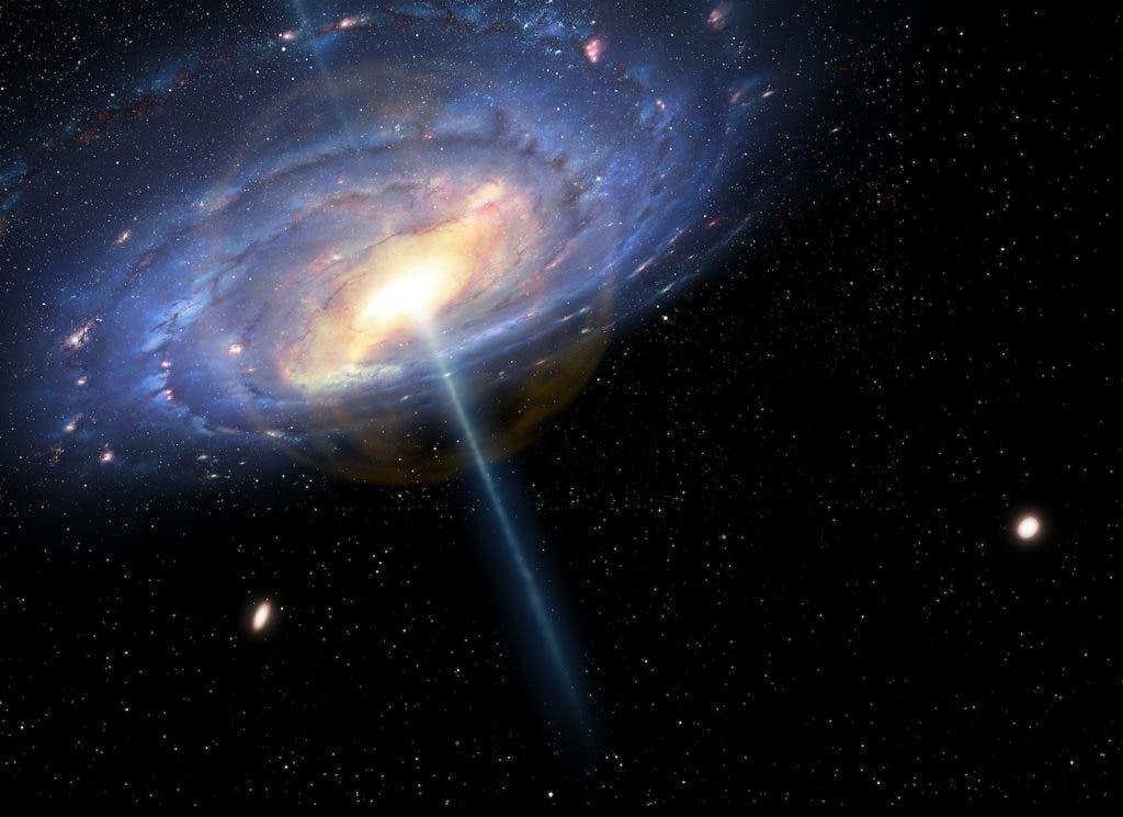 Quasar Explosion