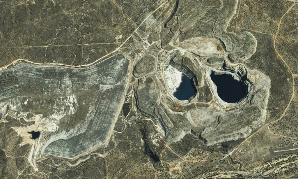 Satellite imagery of the Kidston site. Credit: Genex