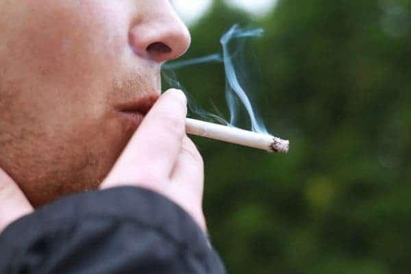 smoking nicotine