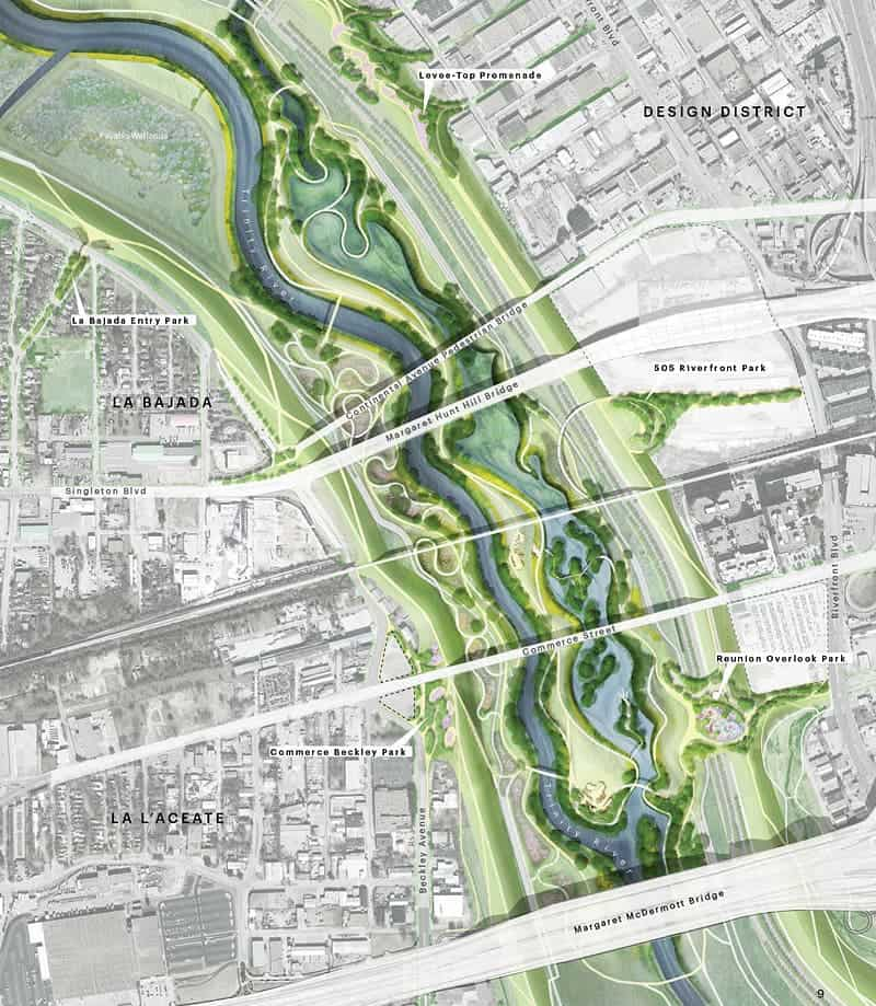 Dallas will turn dangerous floodplains into the nation 39 s biggest urban park 10 000 acres of - Architecture shows ...