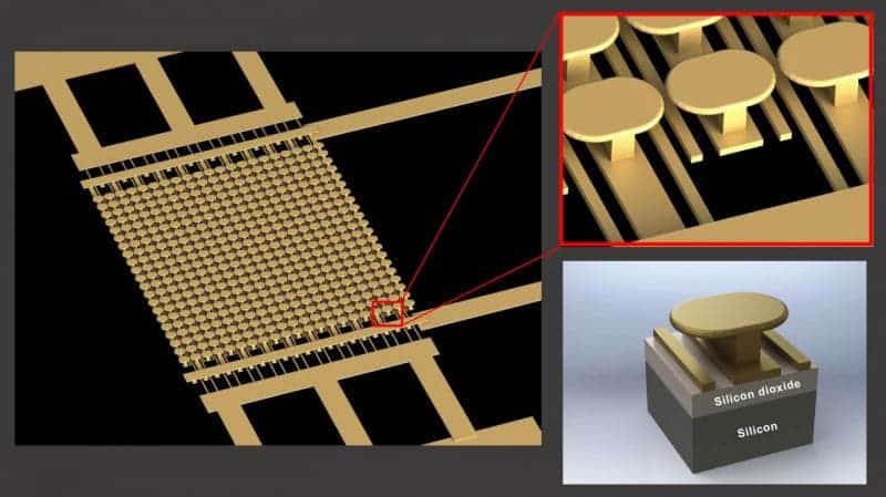 The semiconductor-free microelectronics device fabricated by the University of California, San Diego. Source: UCSD