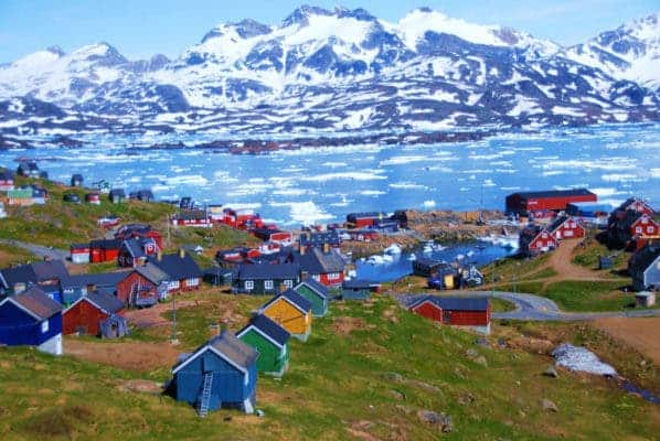 Some parts of Greenland really are green, but don't let the name fool you like the early Vikings. Credit: Flickr