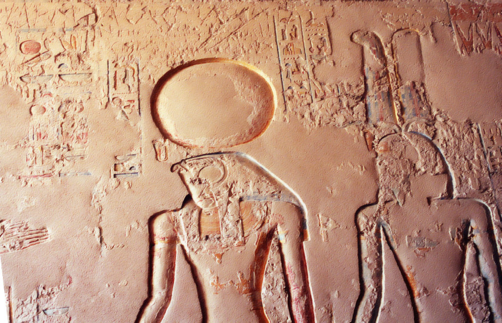 ancient egyptians used to decorate the temples dedicated to ra the god of the sun with green palm during the winter solstice credit wikimedia commons - Origin Of Christmas Trees