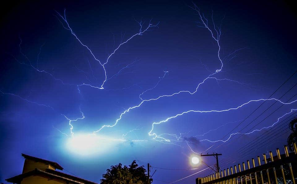 the world s most lightning prone areas the top spot gets zapped