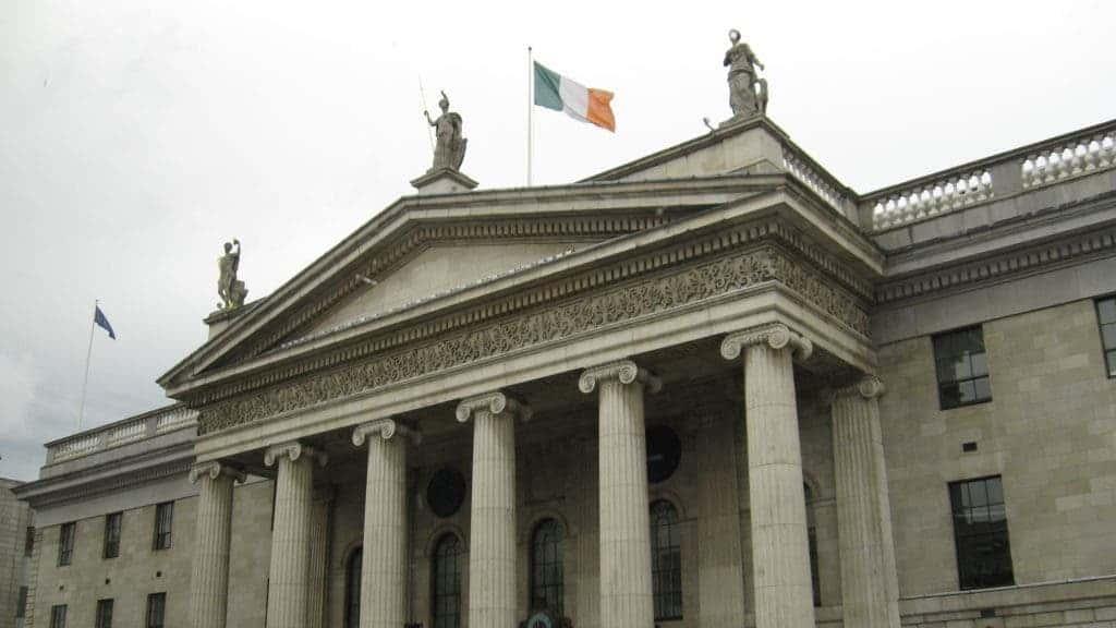 The Irish Parliament building. Credit: DeviantArt / Belisarius-10K.