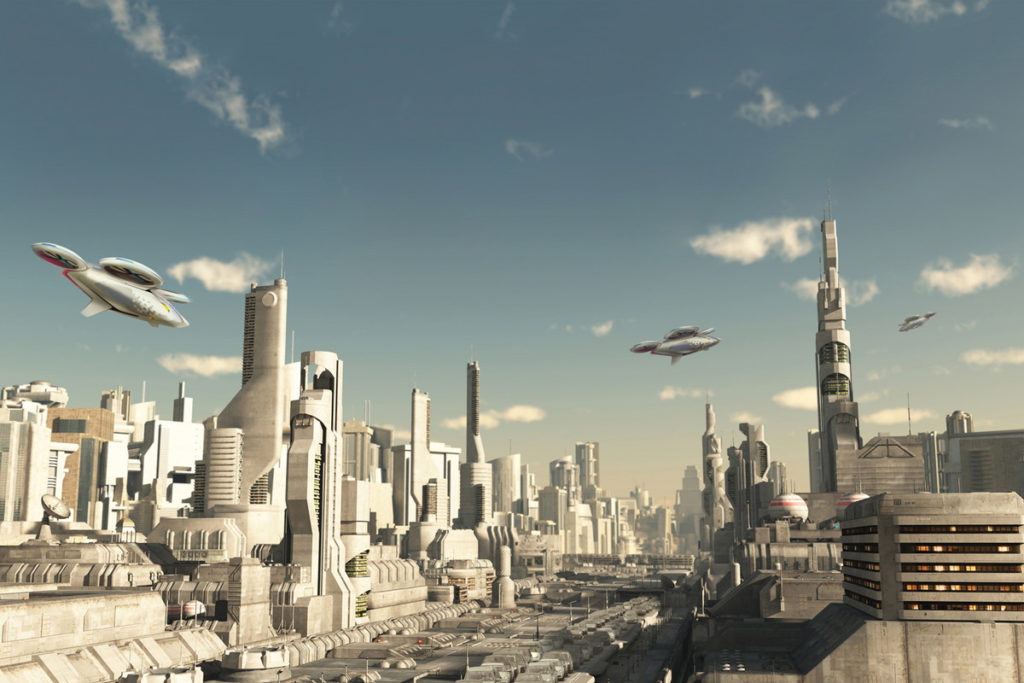 flying cars.