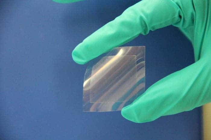 The graphene sheet. Credit: CSIRO