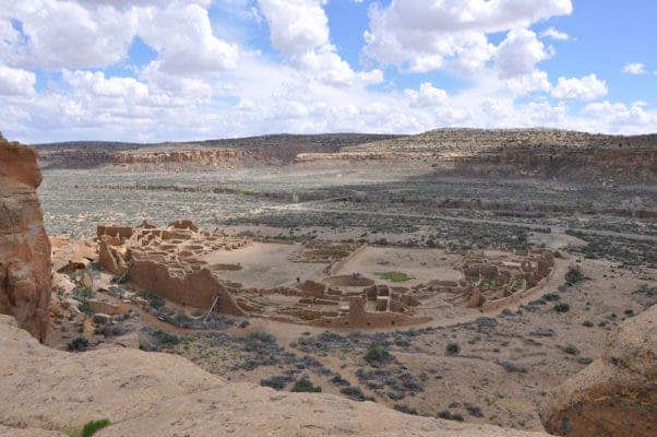 Pueblo Bonito. Credit: Douglas Kennett / Penn State University.