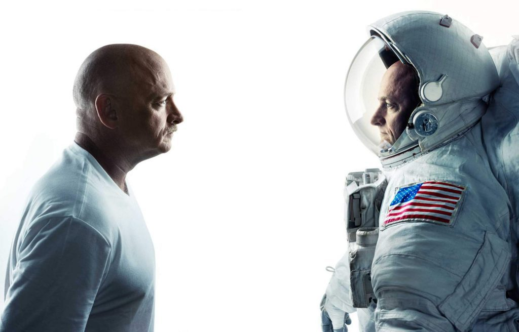 Scott and Mark Kelly are identical twins and NASA astronauts. Photo: NASA