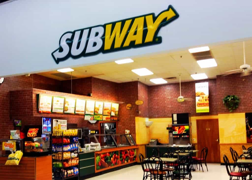 DNA tests reveal that Subway's chicken