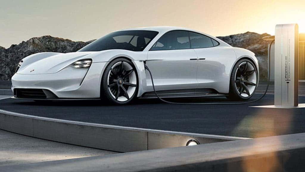 The glamorous Porsche Mission E. Credit: Porsche