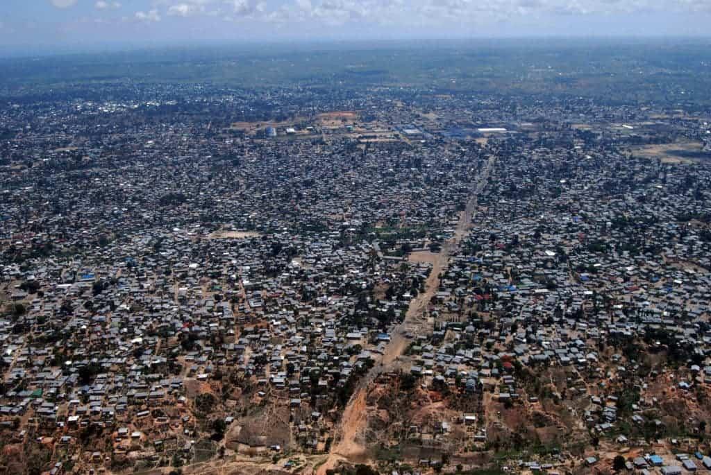 Aerial view of Dar es Salaam. Image credits: BBM Explorer