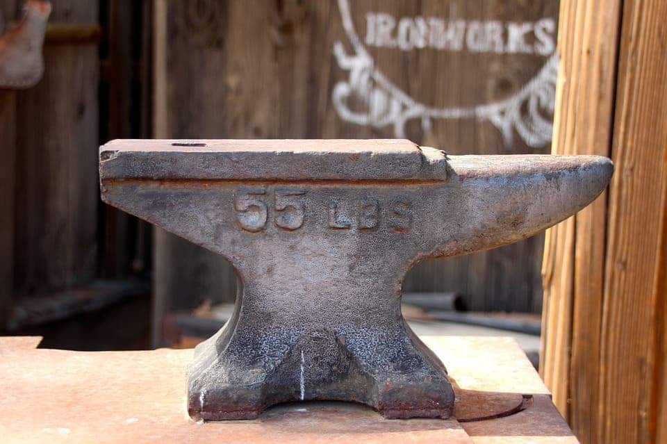 Even ubiquitous iron could run short.