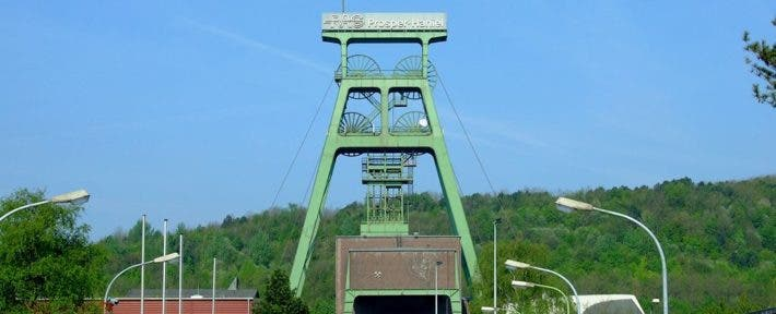 The mine near the city of North-Rhine Westphalia. Credit: Wikimedia Commons.