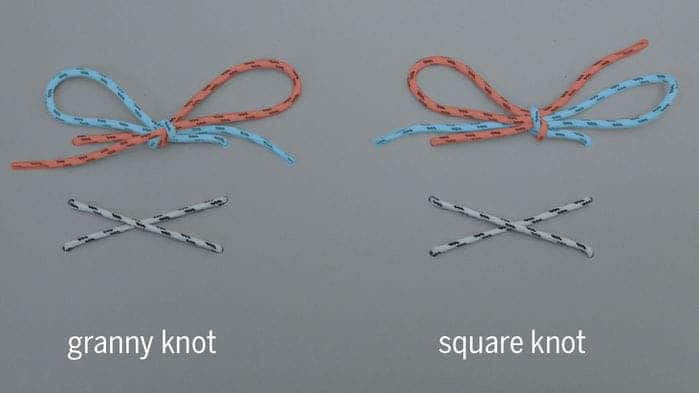 The scientists looked at two types of knots. Credit: Christopher Daily-Diamond