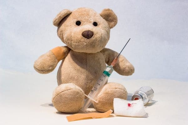 Teddy bear vaccine.