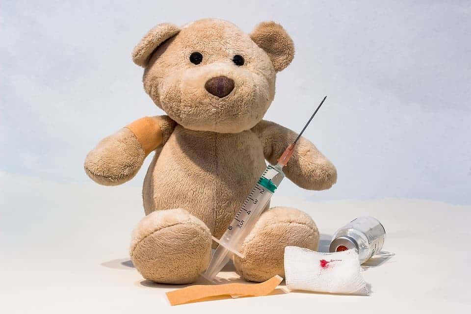 Teddy bear vaccine.
