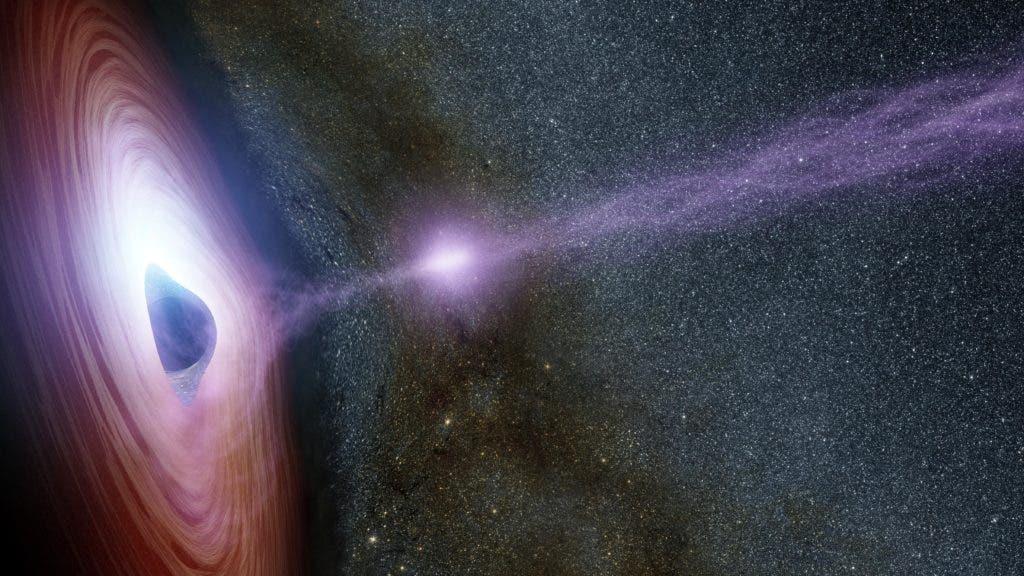 Black Hole Art Render.