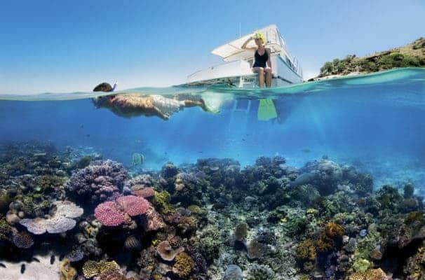 Reef Snorkelling on the Great Barrier Reef. Credit: Wikimedia Commons.