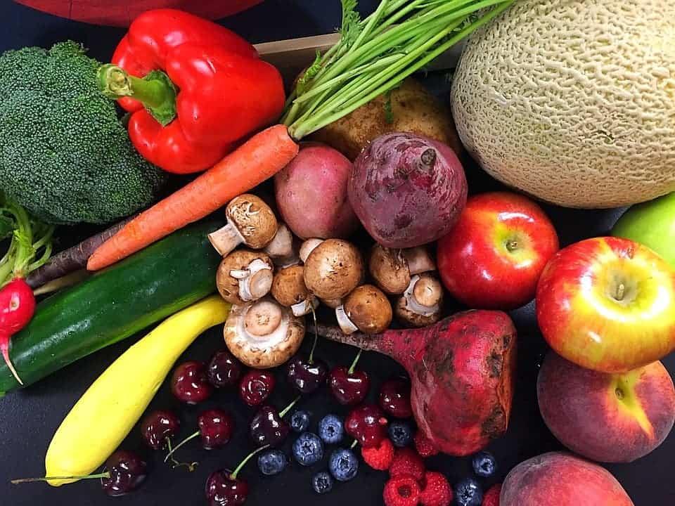 Fresh veggies.
