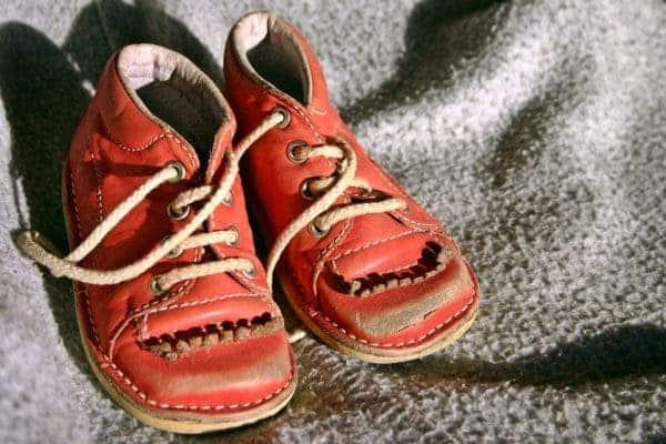 Children shoes.