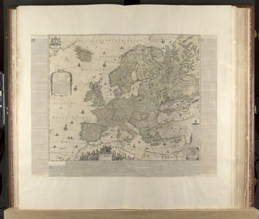 Klencke Atlas Europe.